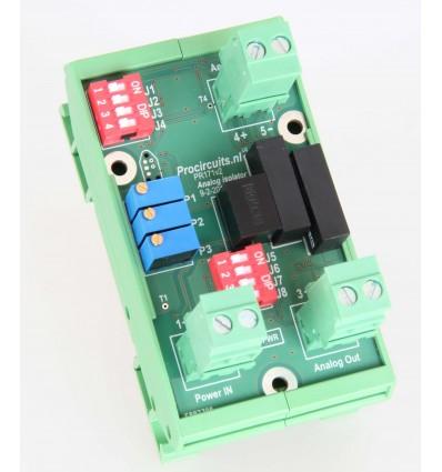 Analog signal isolator -10v / +10v