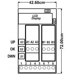 Dual Pt100 to 4-20 mA and 0-20 mA
